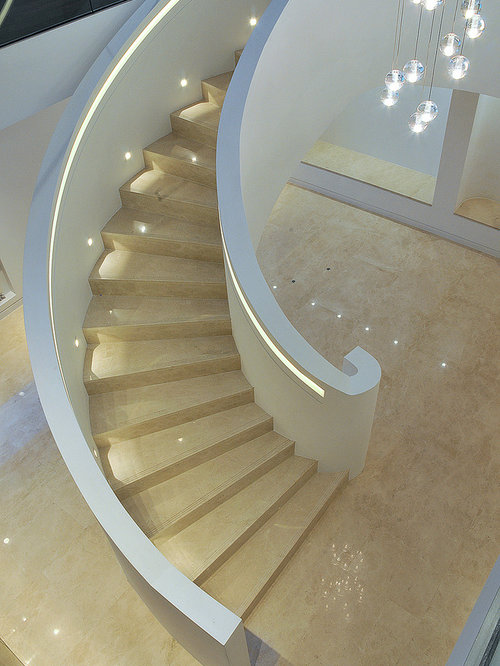stair case lighting. minimalist spiral staircase photo in london stair case lighting