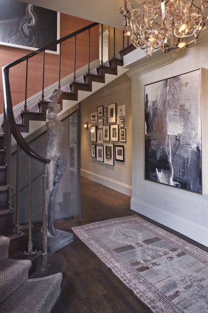 Contemporary Staircase by Kendall Wilkinson Design