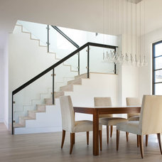 Contemporary Staircase by Ellen Grasso & Sons, LLC