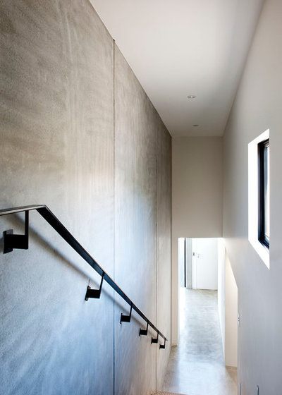 Modern Staircase by Daniel Marshall Architect