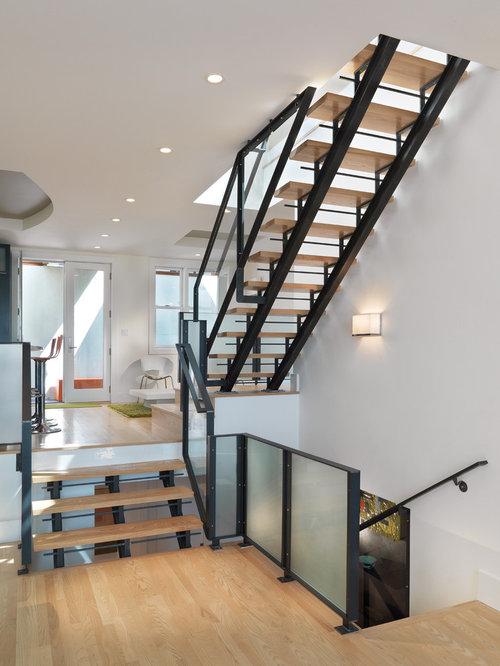 Scandinavian Staircase Design Ideas, Remodels & Photos