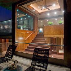 Modern Staircase Emerald Bay Residence