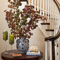 Traditional Staircase by Emily Ruddo