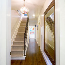 Transitional Staircase by Butter Lutz Interiors, LLC
