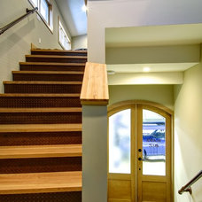 Traditional Staircase by Chinnick & Co.