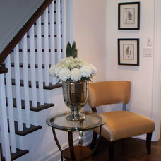 Eclectic Staircase by GHStyleworks