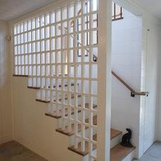 Rustic Staircase by Giambastiani Design