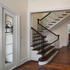 Traditional Staircase by RWA Architects