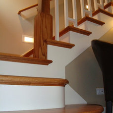 Traditional Staircase by Patrick A. Finn, Ltd