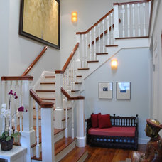 Traditional Staircase by ACANTHUS Architecture & Design, San Francisco, CA