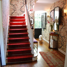 Traditional Staircase by Lisa Borgnes Giramonti