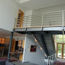 Contemporary Staircase by Fein Design