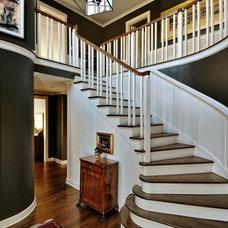 Traditional Staircase by Paula Devon Raso Interior Design