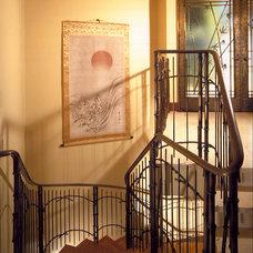 Tropical Staircase by Saint Dizier Design