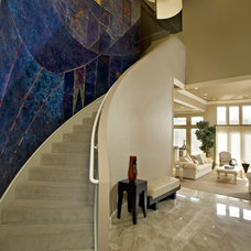 Contemporary Entry by Schlosser Design Group