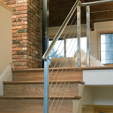 Contemporary Staircase by Bennett Frank McCarthy Architects, Inc.
