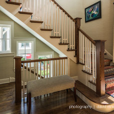 Craftsman Staircase by BEHLES+BEHLES