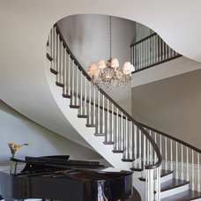 Traditional Staircase by Twist Interior Design
