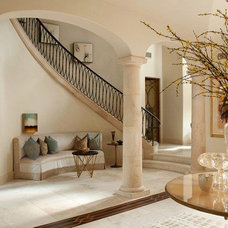 Traditional Staircase by GOODCHILD BUILDERS INC