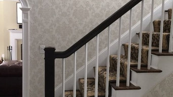 Entry Staircase - Wallpaper