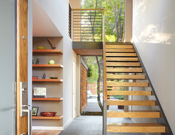 Entry, Stairs Beyond