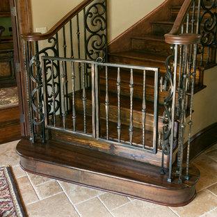 Exempel på en medelhavsstil trappa
