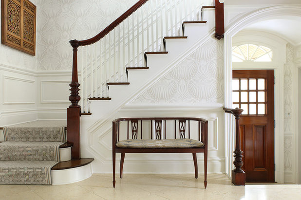 Traditional Staircase by Valerie Grant Interiors