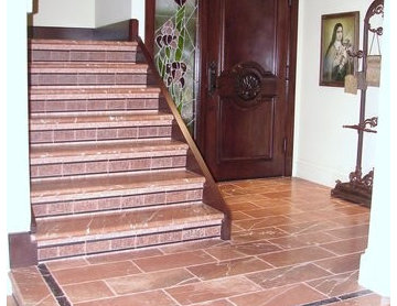 Entry Way Flooring and Showers