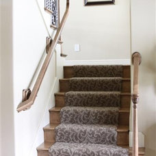 Traditional Staircase by O and C's Residence