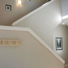 Traditional Staircase by Jordan Iverson Signature Homes