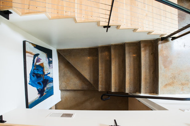 Contemporary Staircase by Jason Snyder