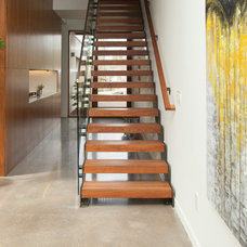 Modern Staircase by Whitney Lyons