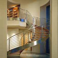 Modern Staircase by Sterling-Huddleson Architecture