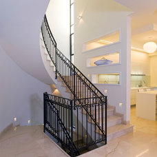 Contemporary Staircase by Yaniv Schwartz - Photographer