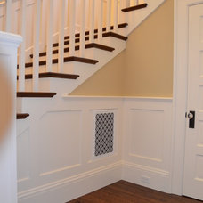 Traditional Staircase by Gary J Ahern, AIA - Focal Point Design