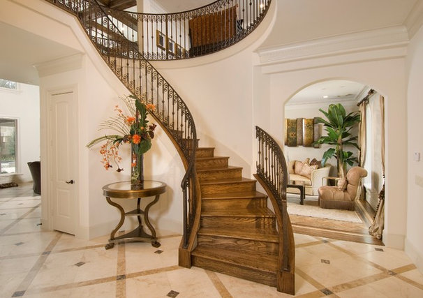 Mediterranean Staircase by Bunker Hill Design