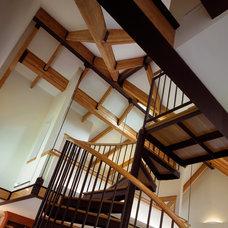 Staircase by Foster Dale Architects, Inc.