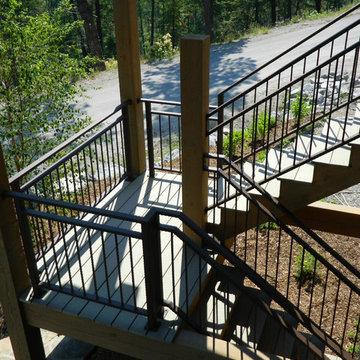 Exterior Deck & Stair Railing
