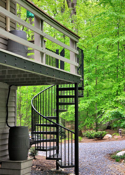 Неоклассика Лестница by CHECA Architects PC