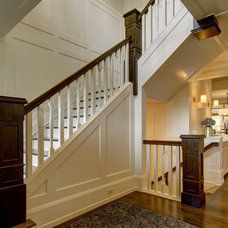 Craftsman Staircase by Rockwood Custom Homes
