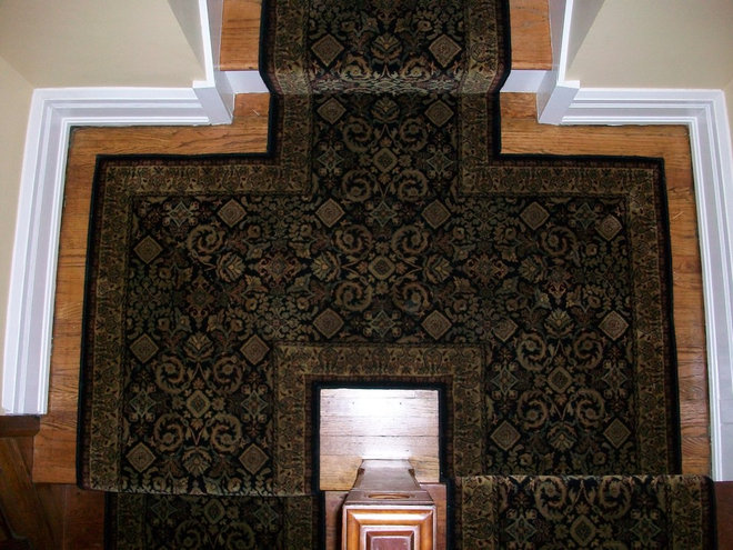 Traditional Staircase by Carpetland Carpet One Floor & Home