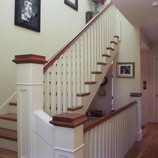 Craftsman Staircase by Mayer and Company