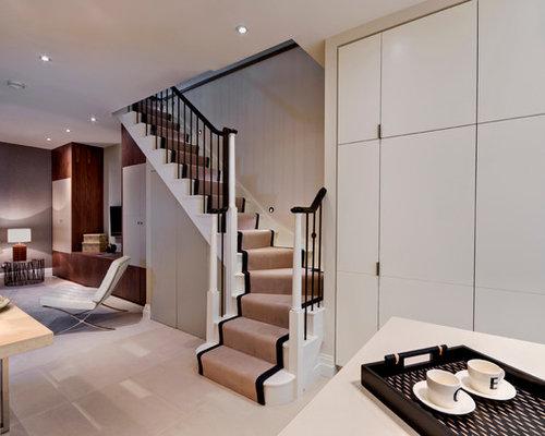 moderne keller mit grauen w nden einrichten ideen. Black Bedroom Furniture Sets. Home Design Ideas