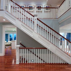Traditional Staircase by blurrdMEDIA