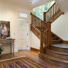 traditional staircase by Tyner Construction Co Inc