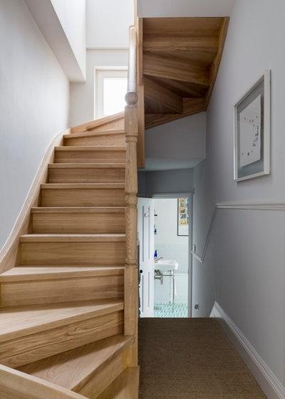 Transitional Staircase by VORBILD Architecture