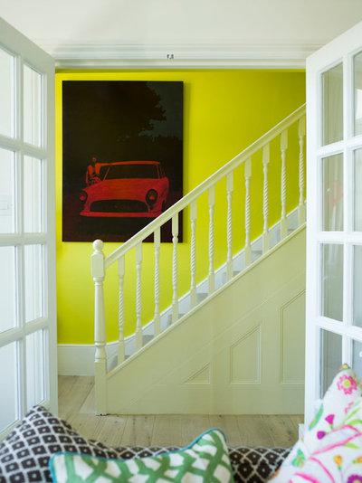 エクレクティック 階段 by Anna Standish Interiors