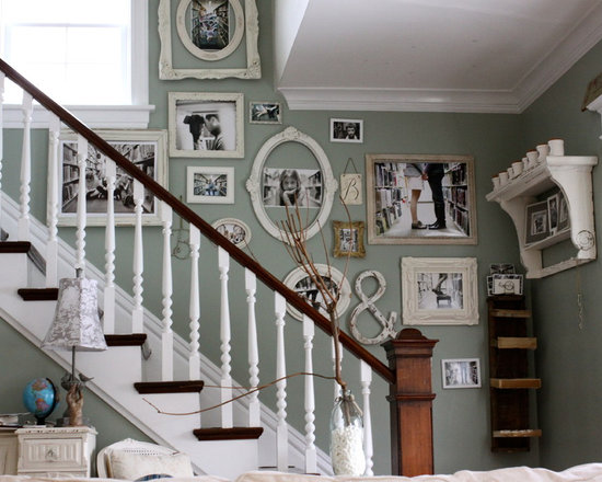Stairway Wall Decorating Ideas staircase wall decorating ideas | houzz