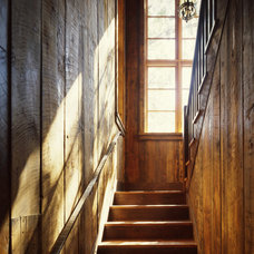Rustic Staircase by Tucker & Marks