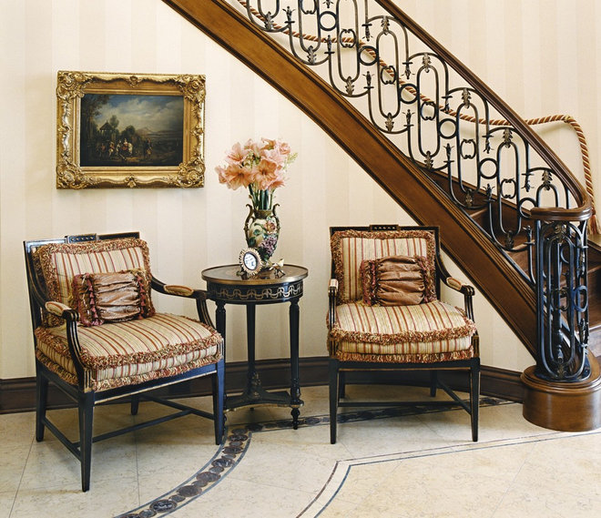Traditional Staircase by Just Joh